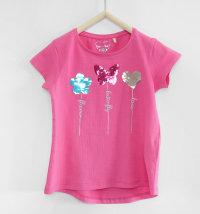 KNOT SO BAD Majica kratkih rukava s motivom leptira, srca i cvijeta koji mijenjaju boju