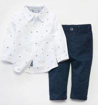 BABYBOL Komplet košulja s uzorkom i hlače