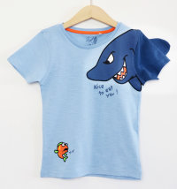 KNOT SO BAD Majica kratkih rukava s printom morskog psa