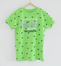 KNOT SO BAD Majica kratkih rukava s printom rakova i natpisom