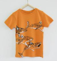 KNOT SO BAD Majica kratkih rukava s printom tigrastih morskih pasa
