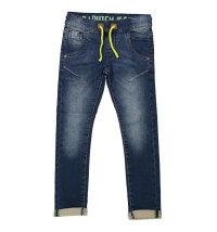 DIRKJE Udobne rastezljive traper hlače s gumicom u struku