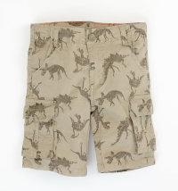KNOT SO BAD Vintage traper kratke hlače - bermude s printom
