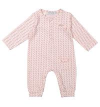 DIRKJE Roza pamučna pidžama/ kombinezon
