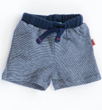 KNOT SO BAD Pamučne prugaste sportske kratke hlače