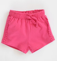 KNOT SO BAD Pamučne kratke hlače s ukrasnim trakama
