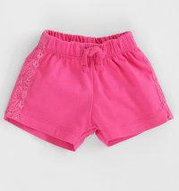 KNOT SO BAD Pamučne kratke hlače s čipkom