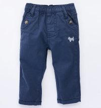Basic pamučne hlače tamnoplave