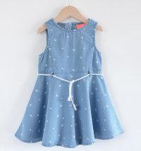 KNOT SO BAD Traper haljina s izvezenim zvjezdicama