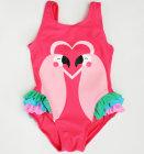 KNOT SO BAD Jednodijelni kupaći kostim s printom flaminga