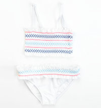 KNOT SO BAD Dvodijelni kupaći kostim bijeli