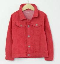BABYBOL Crvena traper jakna