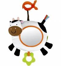 Didaktička igračka ogledalo kravica, 0mj.+