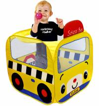 K's kids didaktička igračka School Bus Ball Pool