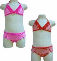 Lentiggini kupaći kostim za djevojčice, vel:92-116