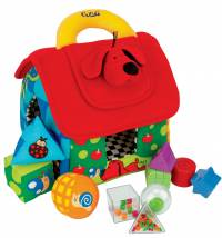 K's Kids didaktička igračka Deluxe Patrick Shape Sorting House