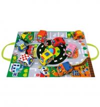K's Kids didaktička igračka Take Along Play Set - Cars In Town