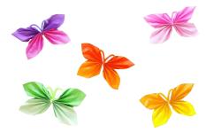 Izradite leptire od papira