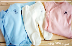 Odjeća od organskog  pamuka je najbolji  odabir za novorođene bebe