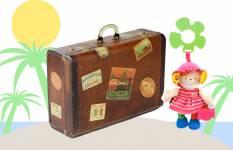 Ljetni kovčeg za djevojčice