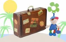Ljetni kovčeg za dječake