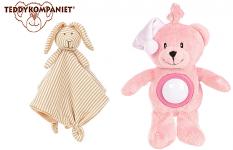 Teddy Lights, svjetleća igračka i Stripes Snuttefilt, dekica zec